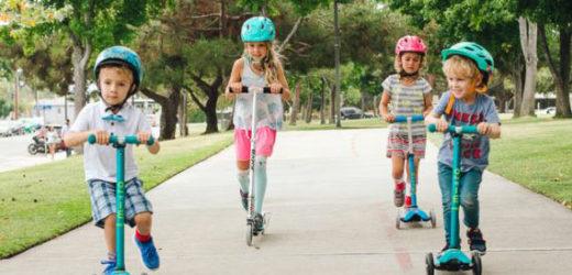 Защо тротинетките са толкова популярни сред децата?